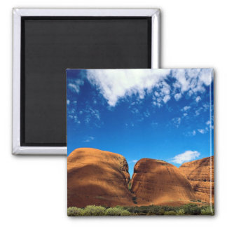 The Olgas, Uluru National Park, Northern Territory 2 Inch Square Magnet