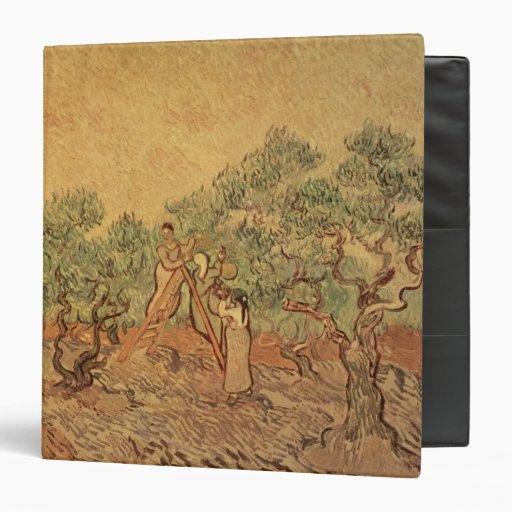 The Olive Grove, 1889 Vinyl Binder