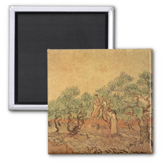 The Olive Grove, 1889 Refrigerator Magnets