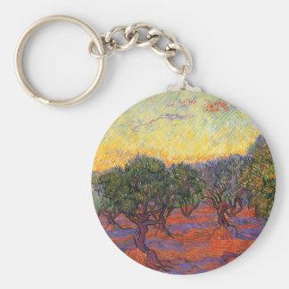 The Olive Grove, Vincent Van Gogh Key Chain
