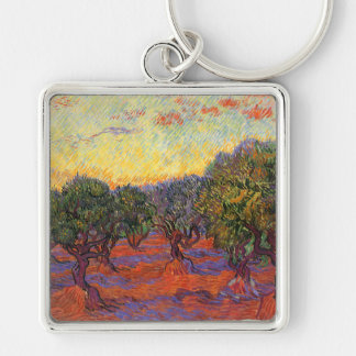 The Olive Grove, Vincent Van Gogh Keychains