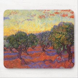 The Olive Grove, Vincent Van Gogh Mouse Pad
