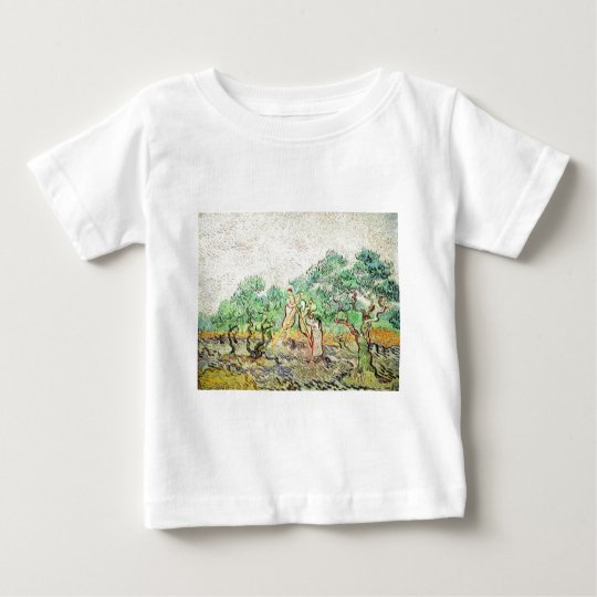 The Olive Orchard - Vincent Van Gogh (1889) Baby T-Shirt