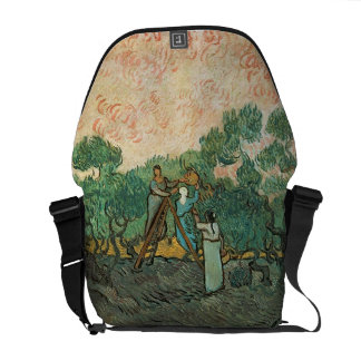 The Olive Pickers, Saint-Remy, 1889 (oil on canvas Courier Bag