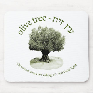 The olive tree, Thousand years providing oil, food Mouse Pad