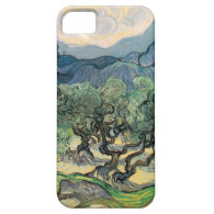 The Olive Trees,1889, by Vincent van Gogh iPhone 5 Covers