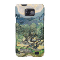 The Olive Trees,1889, by Vincent van Gogh Galaxy SII Cover