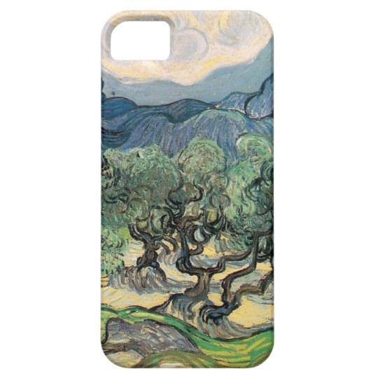 The Olive Trees,1889, by Vincent van Gogh iPhone SE/5/5s Case