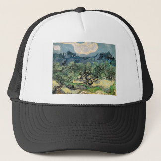 the olive trees,1889, Vincent van Gogh Trucker Hat