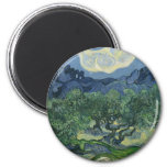 The Olive Trees by Van Gogh Fridge Magnets