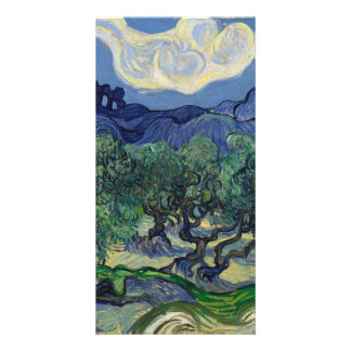 The Olive Trees by Vincent Van Gogh Card