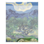 """The Olive Trees by Vincent Van Gogh 4.5"""" X 5.6"""" Flyer"""