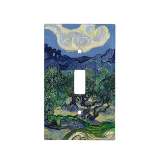 The Olive Trees by Vincent Van Gogh Light Switch Covers