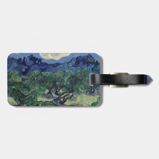The Olive Trees by Vincent Van Gogh Tags For Bags