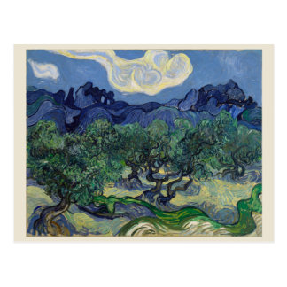 The Olive Trees by Vincent Van Gogh Postcard