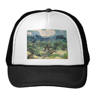 The Olive Trees Mesh Hat