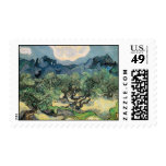 The Olive Trees Stamp