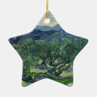 The Olive Trees - Van Gogh Christmas Tree Ornament