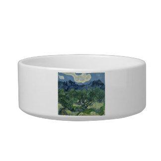 The Olive Trees - Van Gogh Pet Water Bowl