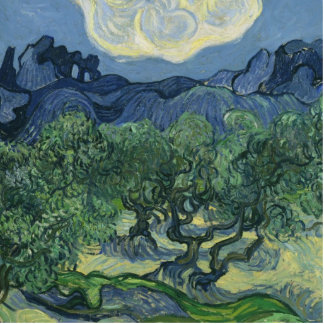 The Olive Trees - Van Gogh Cut Outs
