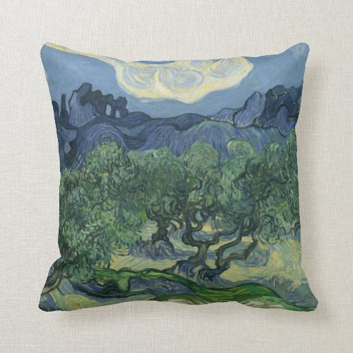 The Olive Trees - Van Gogh Pillows