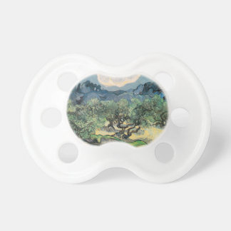 The Olive Trees, Vincent van Gogh Baby Pacifiers
