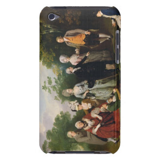 The Oliver and Ward Families in a Garden, c.1788 ( Barely There iPod Cases