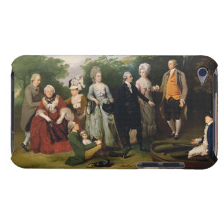 The Oliver and Ward Families in a Garden, c.1788 ( Case-Mate iPod Touch Case