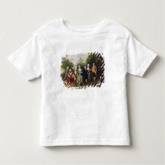 The Oliver and Ward Families in a Garden, c.1788 ( Tee Shirt