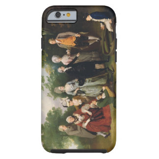 The Oliver and Ward Families in a Garden, c.1788 ( Tough iPhone 6 Case