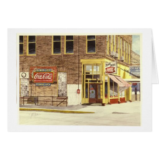 The Olympia Candy Kitchen Card