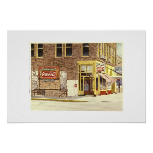 The Olympia Candy Kitchen Poster Zazzle