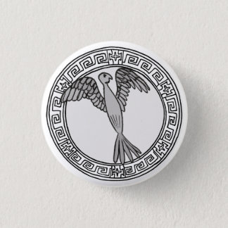 The Olympians! Hera / Juno symbol badge Pinback Button