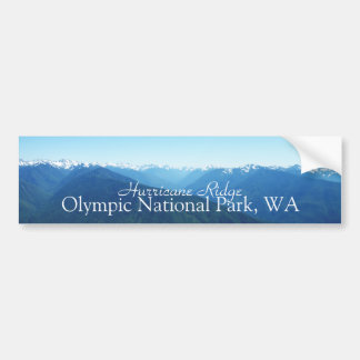 The Olympic Mountain Range Bumper Sticker