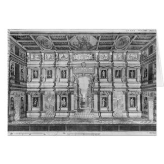 The Olympic Theatre at Vicenza Greeting Card