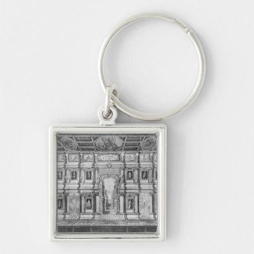 The Olympic Theatre at Vicenza Keychains