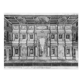 The Olympic Theatre at Vicenza Postcard