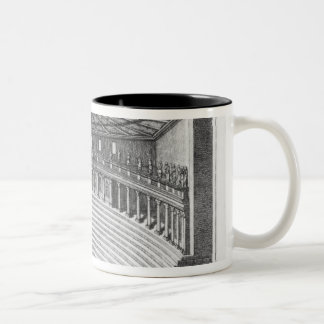 The Olympic Theatre at Vicenza Two-Tone Coffee Mug