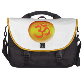 The Om Aum Ohm Yoga Messenger Bags Laptop Computer Bag