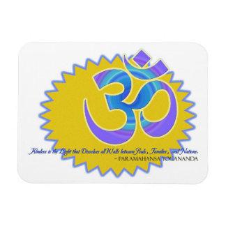 The Om Aum Symbol Paramahansa Yogananda Quote Magnet