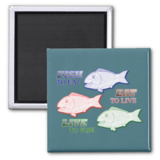 The Omega 3 2 Inch Square Magnet