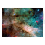 The Omega Nebula Messier 17 NGC 6618 M17 Card