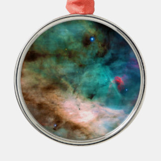 The Omega Nebula Messier 17 NGC 6618 M17 Metal Ornament