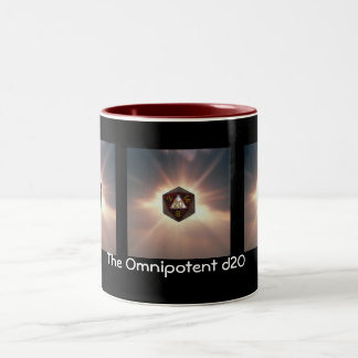 The Omnipotent d20 - Mug