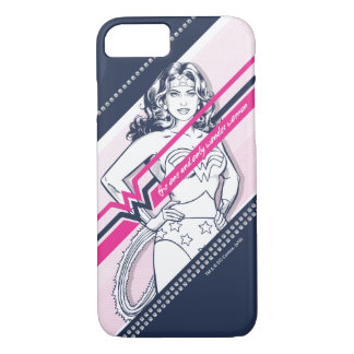 The One And Only Wonder Woman' Retro Graphic iPhone 7 Case