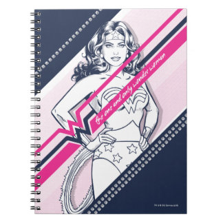 The One And Only Wonder Woman' Retro Graphic Notebook