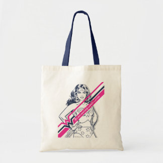 The One And Only Wonder Woman' Retro Graphic Tote Bag