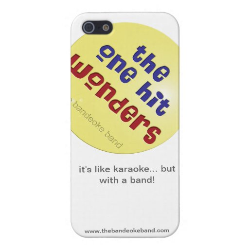 The One Hit Wonders iPhone case