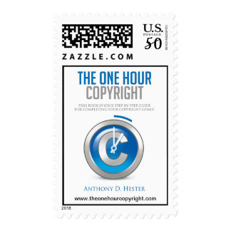 The One Hour Copyright Postage Stamp