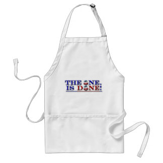 The One Is Done Adult Apron